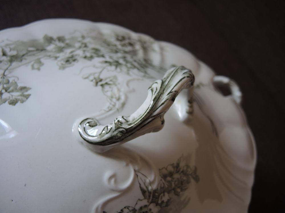 Дополнительные фото антикварной супницы 1900-1910гг Doulton Burslem. Англия, фото № 3