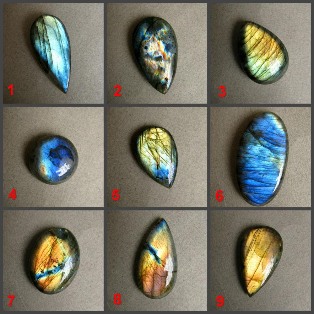 лабрадор кабошон, камни натуральные, кабошон из лабрадорита