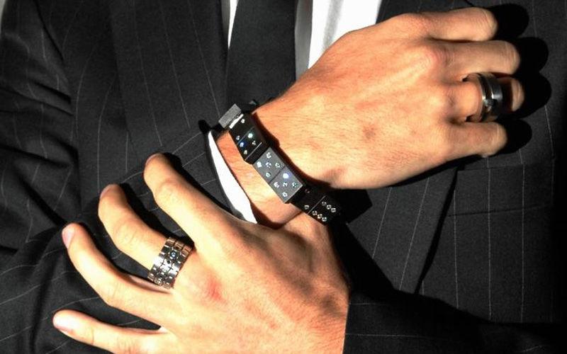 Мужские браслеты на грани стиля унисекс, фото № 28