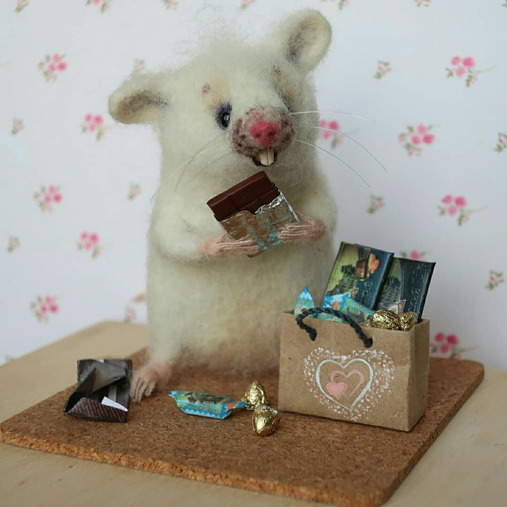 мышка, как сделать игрушку живой