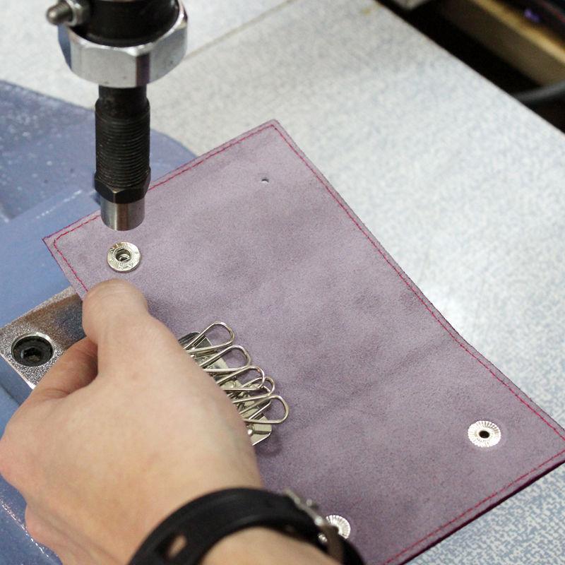 Tutorial on Making a Leather Key Bag, фото № 22