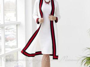 Аукцион на Эффектный деловой костюм- двойку в стиле GUCCI Старт 3500 руб.!!. Ярмарка Мастеров - ручная работа, handmade.