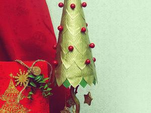 Создаём ёлочку из остатков фоамирана. Ярмарка Мастеров - ручная работа, handmade.