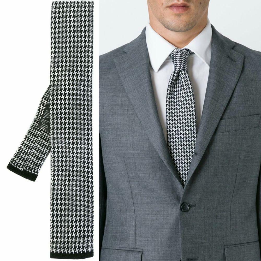 галстук вязаный