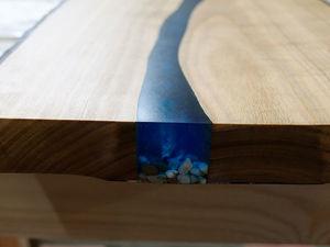 Часы-река или панно-река – вот в чём вопрос! Часть 2.. Ярмарка Мастеров - ручная работа, handmade.