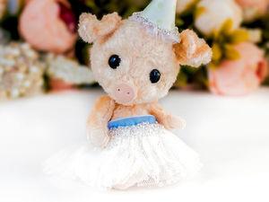 Свинка Люси новогодний подарок 2019, символ года  свинья, поросенок. Ярмарка Мастеров - ручная работа, handmade.