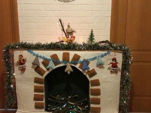 Мастерим новогодний фальш-камин | Ярмарка Мастеров - ручная работа, handmade