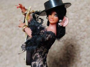 Чувственные куклы фламенко в образе Carmelita Geraghty. Ярмарка Мастеров - ручная работа, handmade.