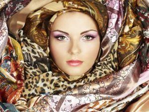 торг уместен, торги сегодня, шёлковый шарф, шелковый платок, батик своими руками, батик handmade, батик шарф, купить подарок