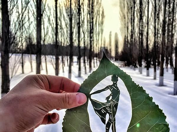Картины из листьев. Новый взгляд на искусство Каната Нуртазина | Ярмарка Мастеров - ручная работа, handmade