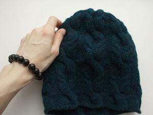 Новая шапочка и  «Моя жизнь никогда не будет прежней». Ярмарка Мастеров - ручная работа, handmade.