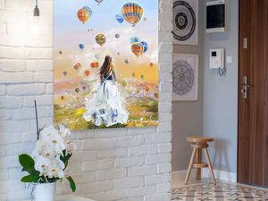 Мансарда: интерьеры и возможность заказа картины). Ярмарка Мастеров - ручная работа, handmade.