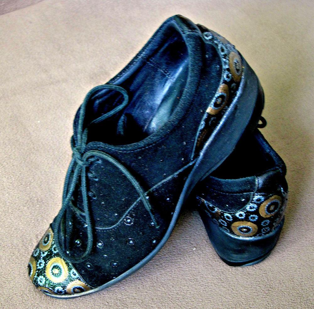 обувь, евгения литва, черные полуботинки