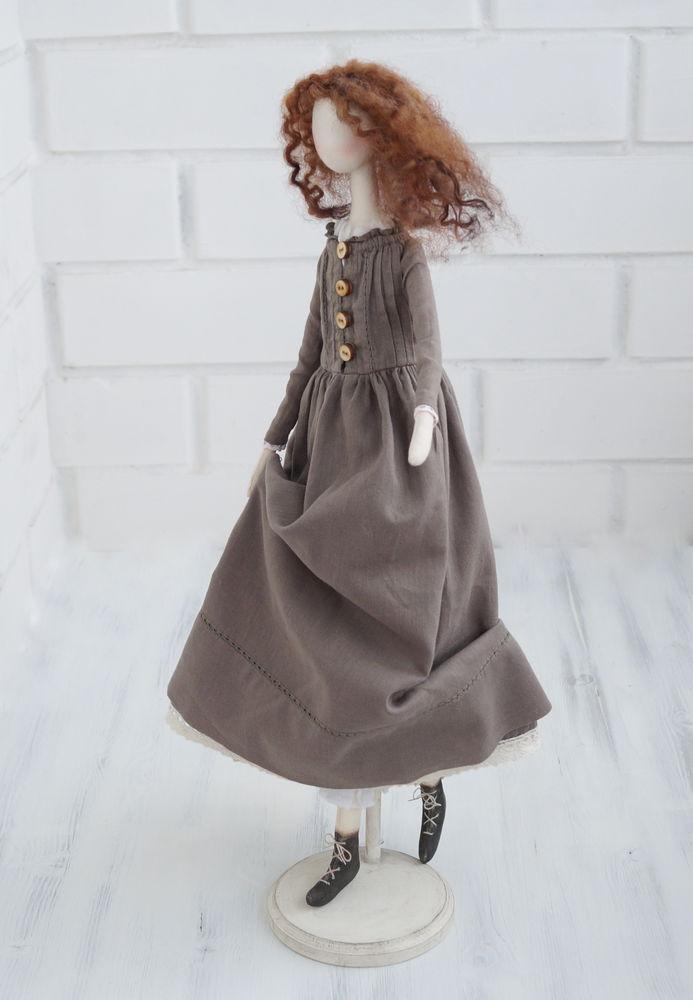 обучение, тряпичная кукла