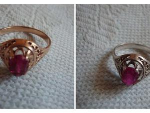 Винтажные кольца с корундами | Ярмарка Мастеров - ручная работа, handmade