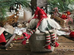 Шьем рождественского гномика. Ярмарка Мастеров - ручная работа, handmade.