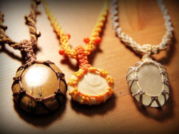 Оплетение камней (украшения ручной работы) | Ярмарка Мастеров - ручная работа, handmade