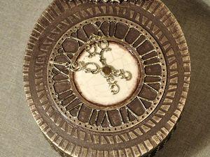 Создаем сказочные декоративные часы для большой елки. Ярмарка Мастеров - ручная работа, handmade.