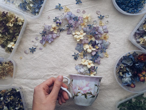 How to Put Spring in a Box: Flower Paradise by Marina Malinovskaya. Livemaster - handmade