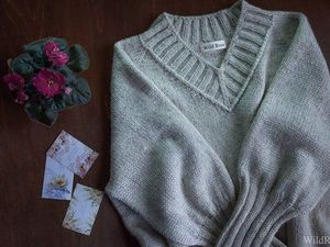 Презентация нового удлиненного пуловера!. Ярмарка Мастеров - ручная работа, handmade.
