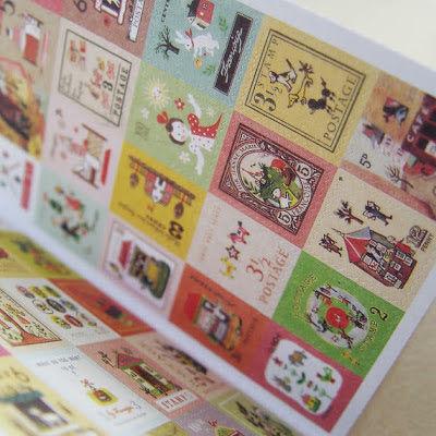 набор открыток, коробочка