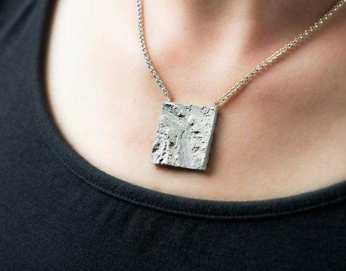 ювелирные украшения, трехмерная карта, украшения из серебра