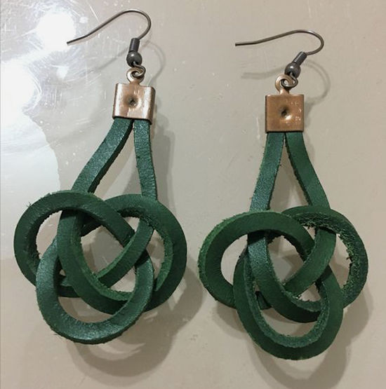 30 Simple Ideas for Design of Handmade Leather Jewelry, фото № 11