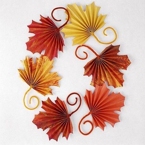 Осенние листья сделать своими руками