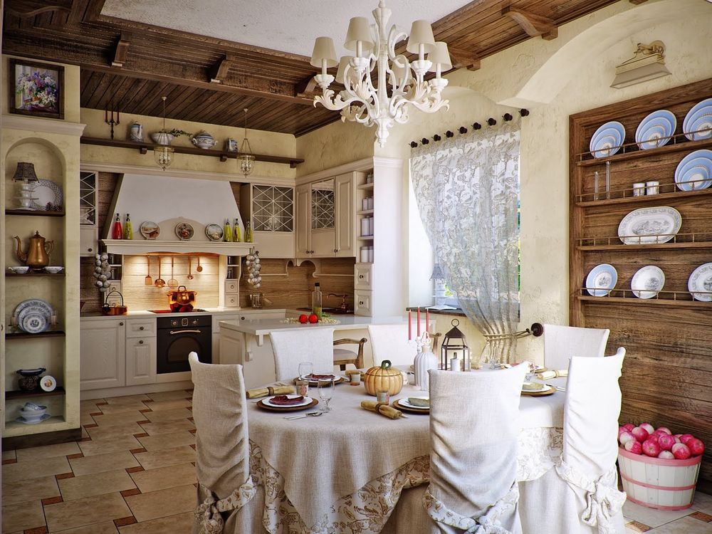 Such a Cozy and Homey Country Style: Its Types and Ideas for Inspiration, фото № 40