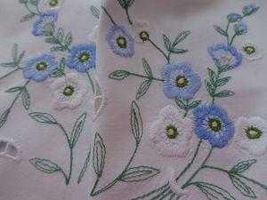 Весенний текстиль с вышивкой ручной работы! 2 дня минус 50%!. Ярмарка Мастеров - ручная работа, handmade.