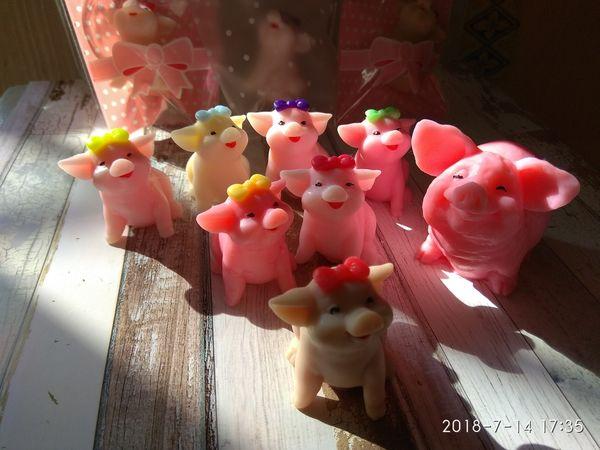 Мыло ручной работы Свинка мини 5+2 | Ярмарка Мастеров - ручная работа, handmade