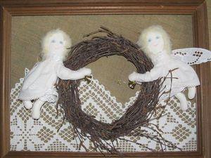 Шьем двух текстильных ангелов. Ярмарка Мастеров - ручная работа, handmade.
