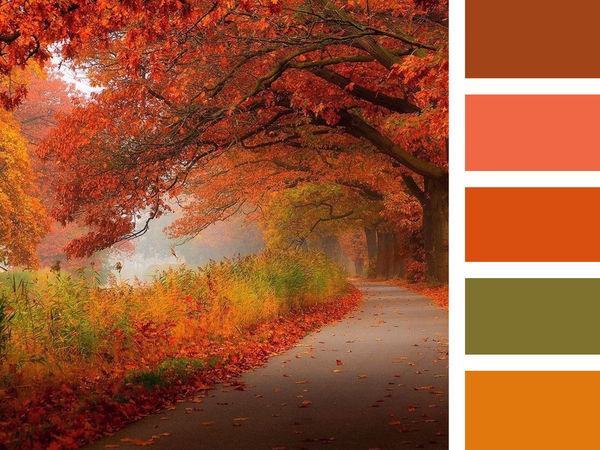 Палитра осени: «Осень художница, осень певица...» | Ярмарка Мастеров - ручная работа, handmade