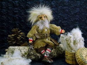 Иннокентий Кузьмич, профессиональный домовой. Ярмарка Мастеров - ручная работа, handmade.