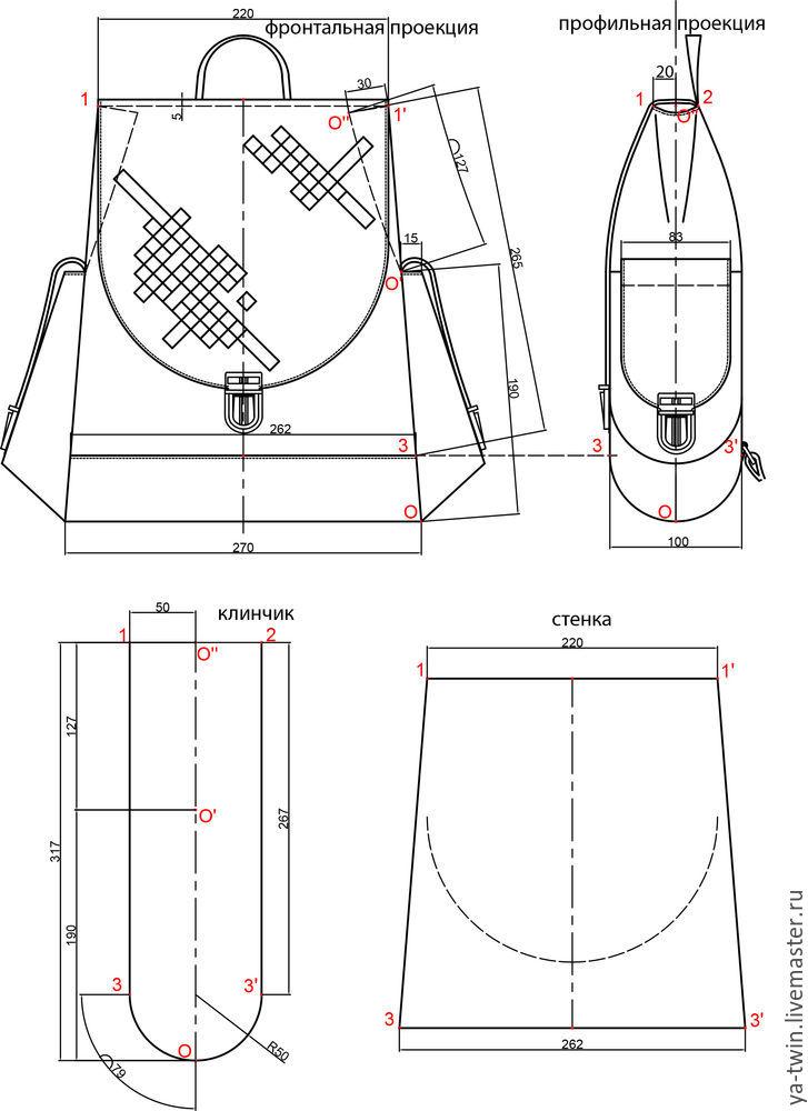 проектирование рюкзака