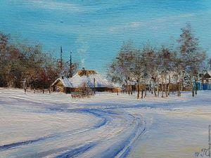 Зимние пейзажи по приятным ценам! | Ярмарка Мастеров - ручная работа, handmade