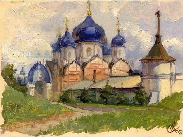 Вспоминая летний пленэр в Боголюбово | Ярмарка Мастеров - ручная работа, handmade