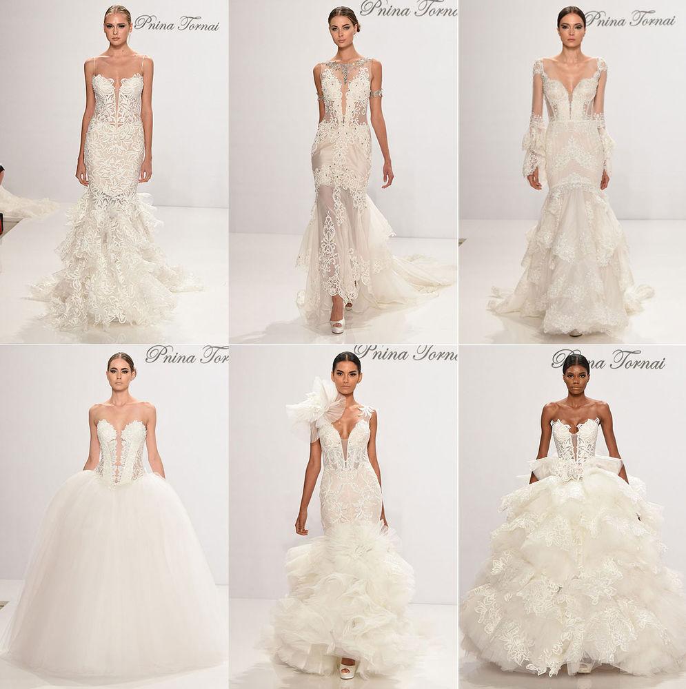 Неделя свадебной моды в Нью-Йорке: 100 лучших подвенечных платьев, фото № 6