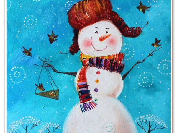 Масляная живопись для детей. 4+ | Ярмарка Мастеров - ручная работа, handmade