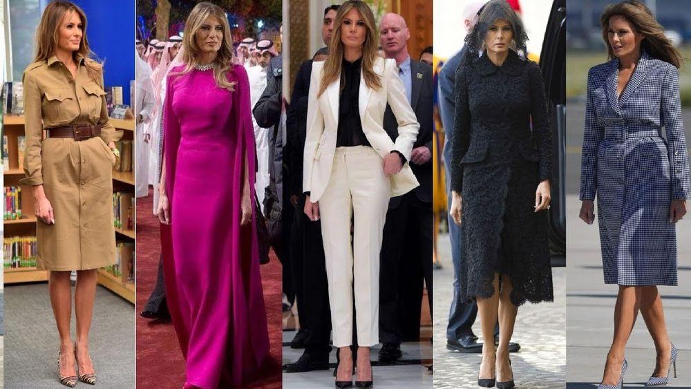 Безупречный стиль первой леди США Мелании Трамп, фото № 14