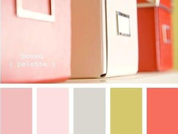 На вкус и цвет: цветовая палитра для вдохновения. Интерьер | Ярмарка Мастеров - ручная работа, handmade