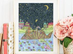 Постеры (принты) по моим картинам. Ярмарка Мастеров - ручная работа, handmade.