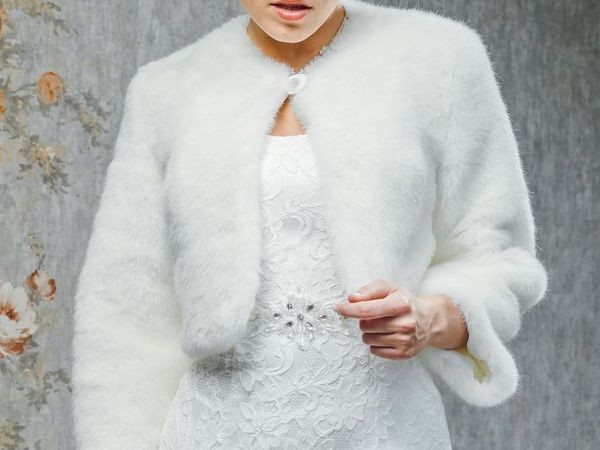 Шубка для невесты из искусственного мутона.МОДЕЛЬ  061 | Ярмарка Мастеров - ручная работа, handmade