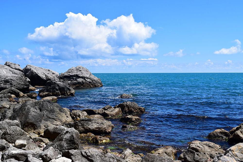 вдохновение, море акварелью