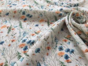 Новинки красивого костюмного  льна уже в продаже. Ярмарка Мастеров - ручная работа, handmade.
