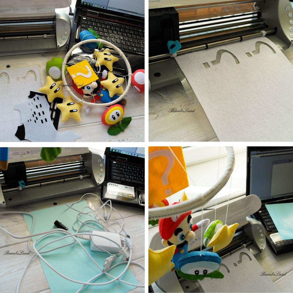плотер, какой плоттер выбрать, шитье, мобиль из фетра, как вырезать