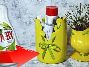 Мастерим оригинальные вазочки из подручных материалов. Ярмарка Мастеров - ручная работа, handmade.