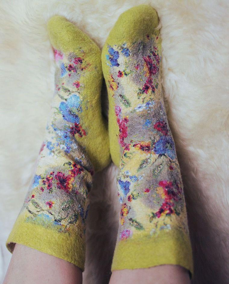 валянме, валяние из шерсти, войлок, войлочные носочки, валяные носочки, носочки, носки, валяные носки, войлочные носки, ручная работа, носки своими руками, мастер-класс, мастер-класс по валянию, валяние носков