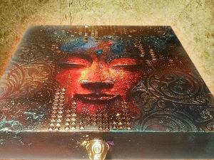 Образ Будды в моих работах. Ярмарка Мастеров - ручная работа, handmade.