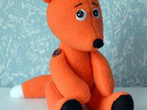 Моя первая игрушка с претензией на авторскую. Ярмарка Мастеров - ручная работа, handmade.